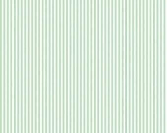 Riley Blake Designs, 1/8 Inch Stripe in SWEETMINT (C495)