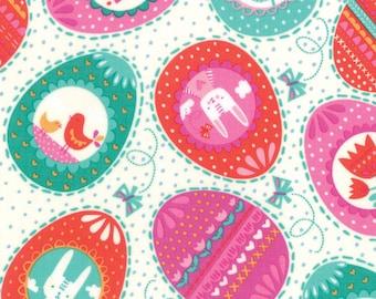 Spring Bunny (20542 11) Cream Eggs Eggs Eggs by Stacy Iest Hsu