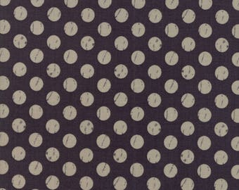 Farmers Daughter (5055 12) Charcoal Shabby Dots by Lella Boutique