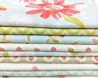 Coney Island by Fig Tree and Co. FQ bundle - 9 FQ's