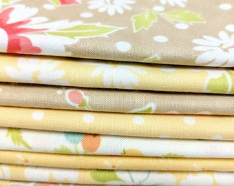 Coney Island & Chestnut Street by Fig Tree and Co. FQ bundle - 9 FQ's