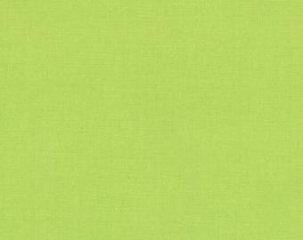 Summer House Lime (9900 173) - Bella Solids fabric Moda Basics