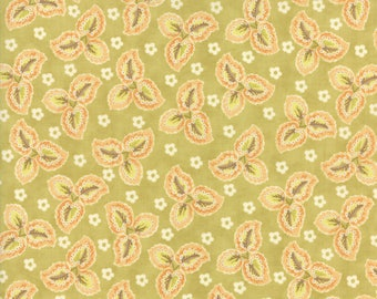 Hazel and Plum (20292 18) Citron Autumn Leaves by Fig Tree & Co.