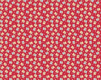 Bake Sale 2 By Lori Holt Tulip Red (C6984)