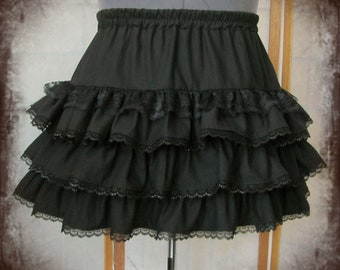 31e2b6d5d84 CHOOSE YOUR COLOR custom ruffled skirt gothic goth lolita visual kei