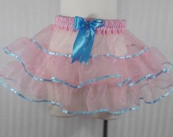 Pastel tutu skirt fairy kei pastel fashion lolita small-plus size