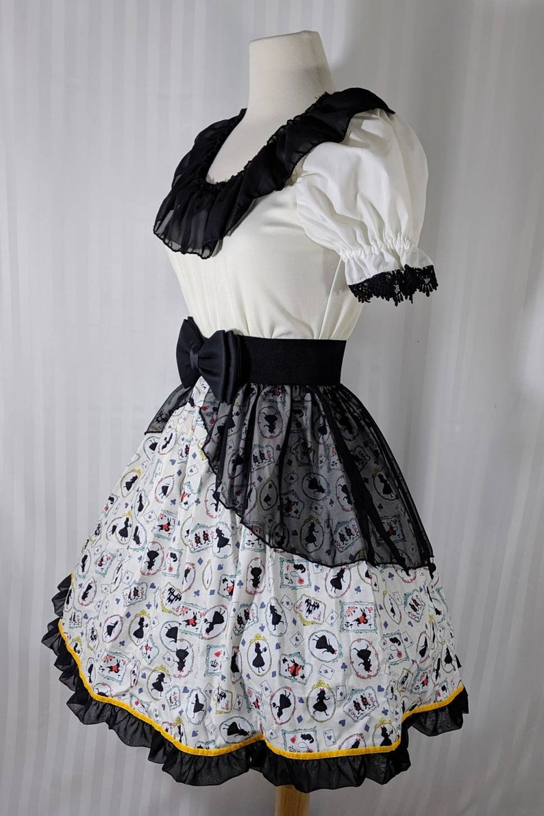 READY-TO-SHIP babydoll alice cards goth gothic steampunk image 0