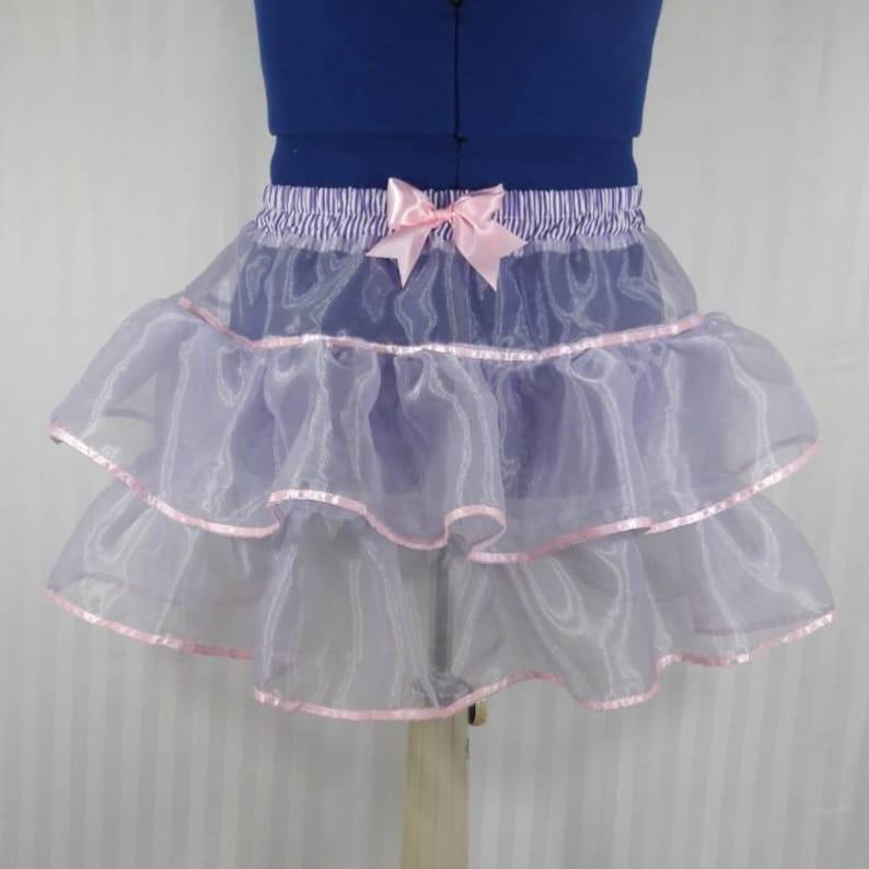 Light purple pastel tutu skirt fairy kei pastel fashion lolita image 0