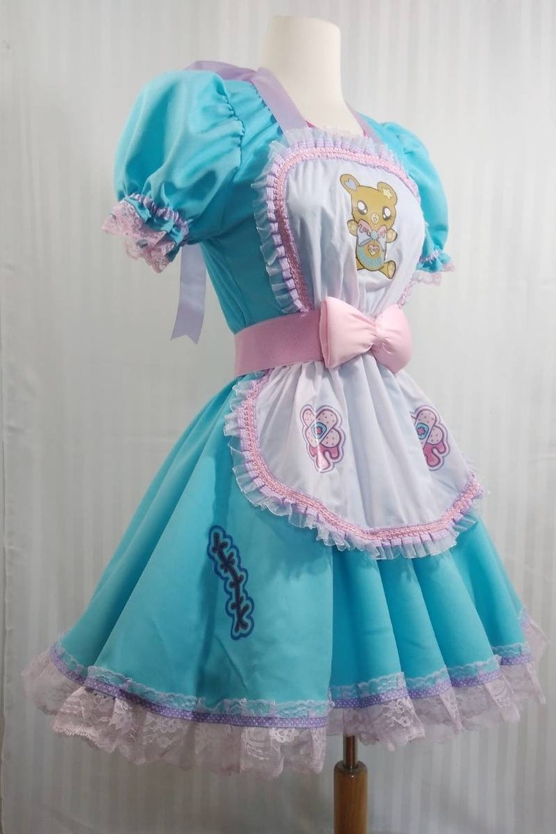 Candy blue nurse injection lolita fairy kei menhera Yami image 0