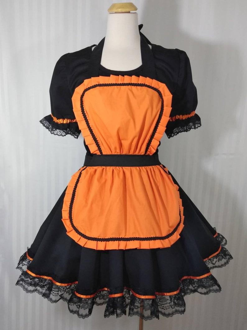 Lolita babydoll Halloween witch maid lolita cosplay dress image 0
