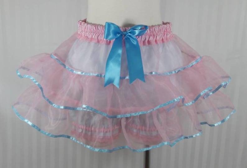 Pink pastel tutu skirt fairy kei pastel fashion lolita image 0
