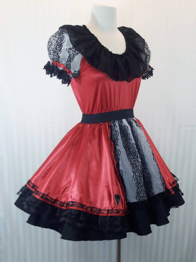 READY-TO-SHIP vk freakshow babydoll lolita red queen or little image 0