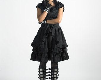 Black Asami gothic lolita dress adult--small to plus size