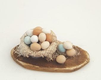 1/12th scale - farm fresh eggs