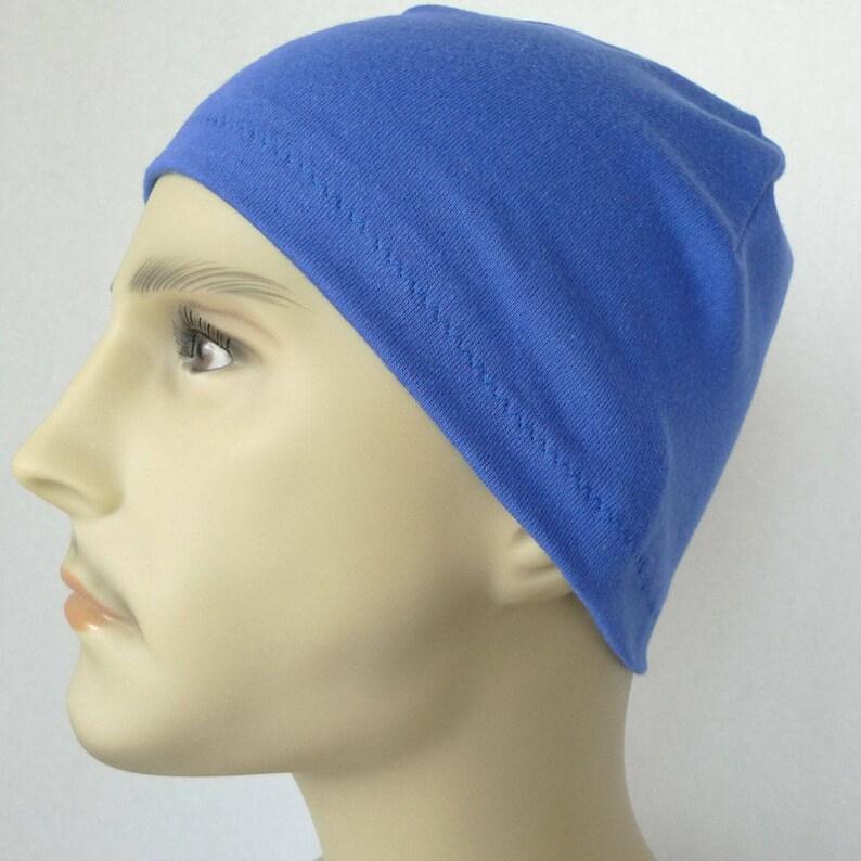 6f059ab3c96 Men s Royal Skull Chemo Cap Bike Hat Knit Running CPAP