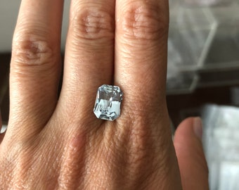 4ct blue sapphire