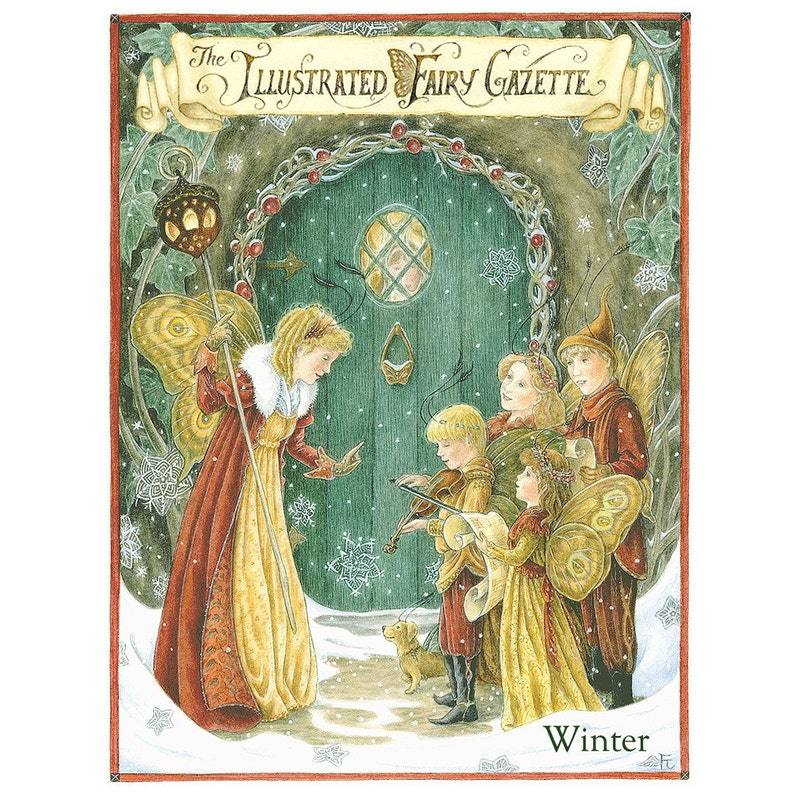 The Illustrated Fairy Gazette  Winter edition image 1