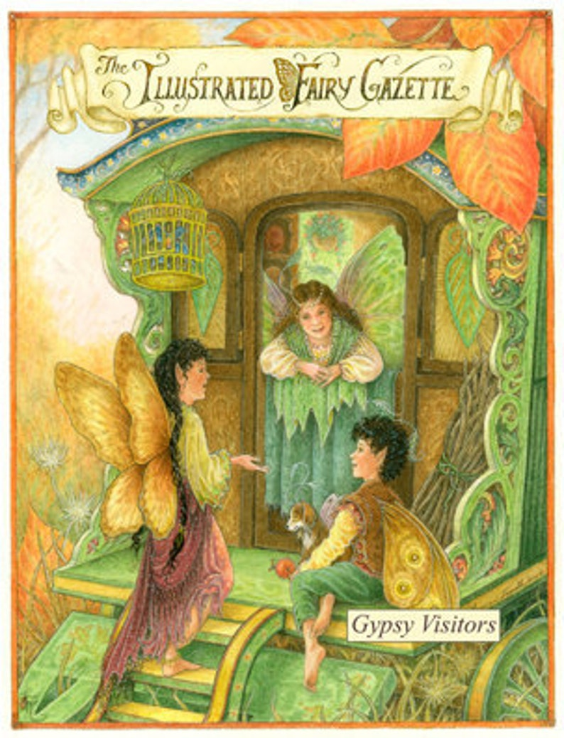 The Illustrated Fairy Gazette  Gypsy Visitors edition image 0