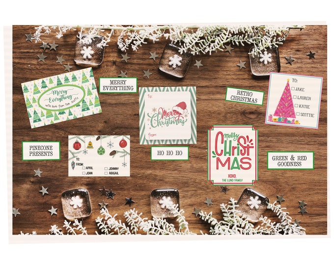Holiday Cheer Tags