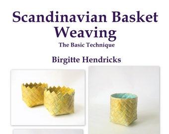 PDF ePattern Scandinavian Basket Weaving Basic Technique