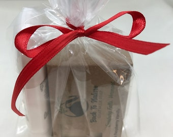 Soap & Lotion Gift Bag, perfect personalized gift for friend, mother, co-worker, sister, aunt.
