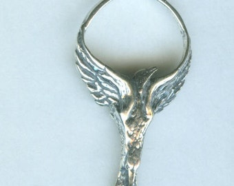 Sterling PHOENIX Pendant with Chain