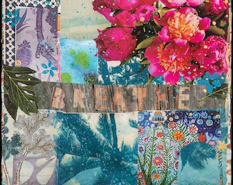 NEW Giclee, BREATE, 8x8, 10x10, 12x12, 14x14, 16x16, and Up, Ocean, Mindfulness, Ocean Art, Wall Art, Palm Trees, Ocean Art, Sea, Beach Art