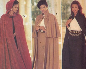 Misses Sewing Pattern Butterick 3084 Misses Essence Collection Easy Cape and Skirt Size 12 14 16 UNCUT