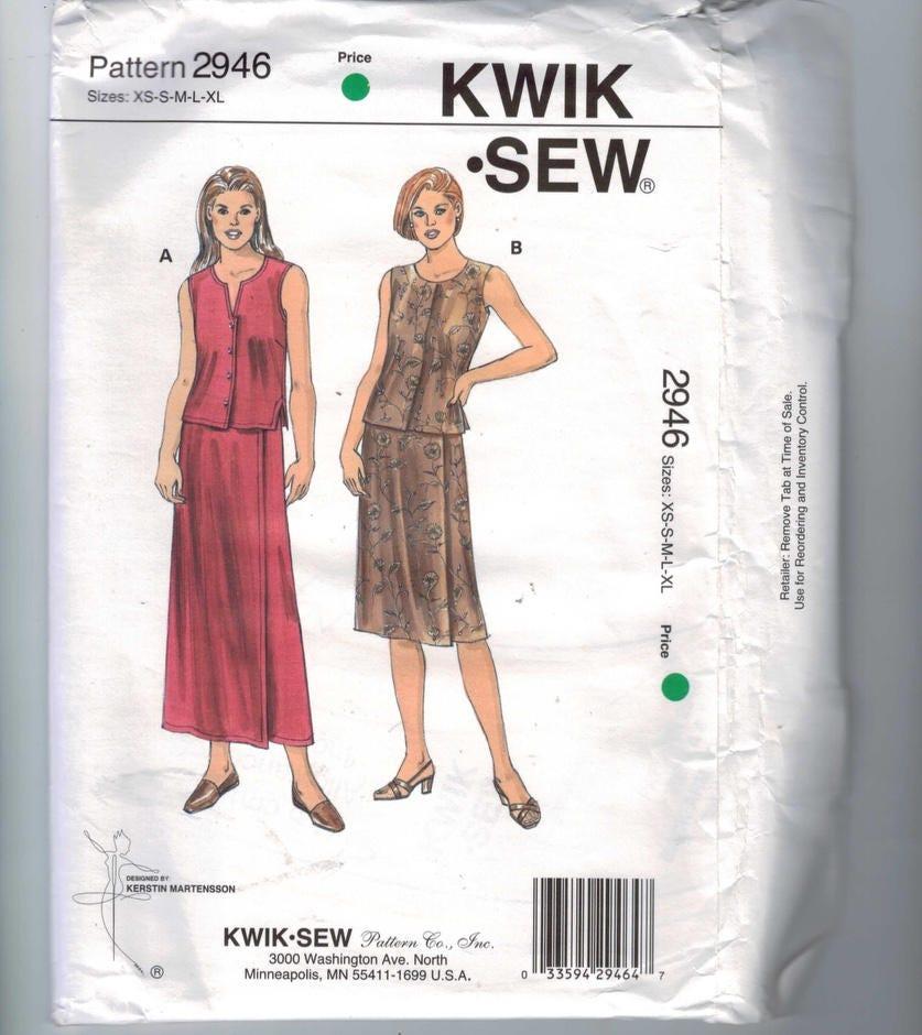 Dorable Kwik Sew Patterns Sale Model - Easy Scarf Knitting Patterns ...