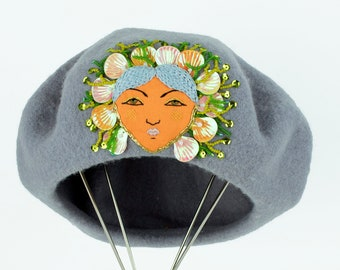 Sea Witch Beret