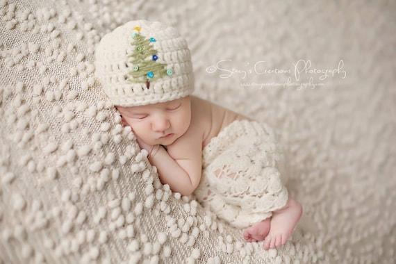 Weihnachtsmütze Babys Neugeborene Weihnachtsmütze häkeln   Etsy