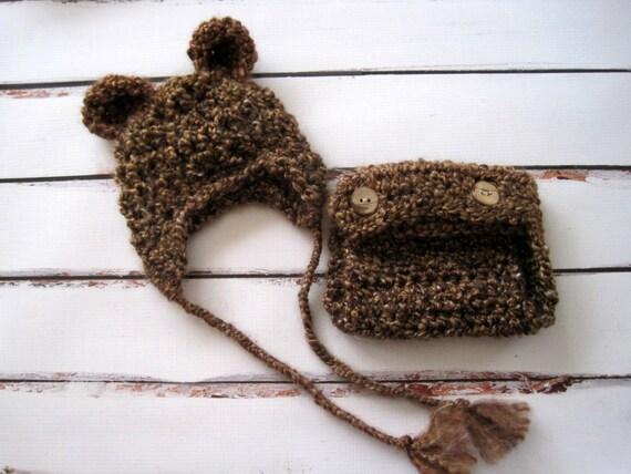 Häkeln Babymütze Baby Bär Mütze Häkeln Bär Hut Hut Und Etsy