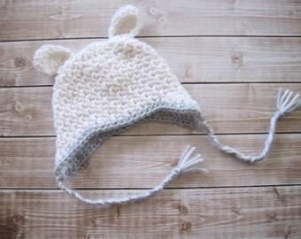 Crochet Baby Hat, Baby Lamb Hat, Crochet Baby Easter Hat, Baby Boy Hat, Newborn Boy Hat, Infant Boy Hat, Crochet Lamb Hat, Baby Animal Hat,