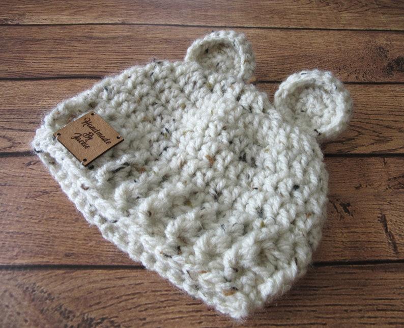 Boy Bear Beanie Crochet Baby Bear Hat Bear Baby Shower Girl Baby Hat Newborn Hat Infant Bear Hat Unisex Newborn Hat Baby Boy Hat