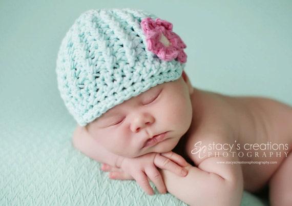 Baby Mädchen Hut Hut Häkeln Baby Baby Schiebermütze Hut Etsy