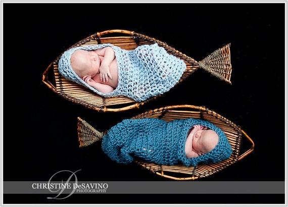 Häkeln Sie Baby Kapuzen Cocoon junge Neugeborenen Foto Prop | Etsy