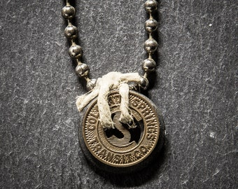 Colorado Spring Small Token Chain Necklace.