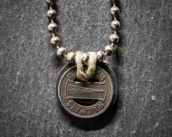 Indianapolis Trolley Token Necklace