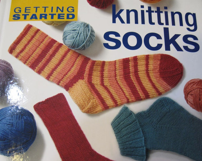 Featured listing image: Getting Started Knitting Socks by Ann Budd