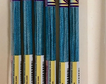 DMC 4025 Caribbean Color Variations Embroidery Floss 1 Skein 6 Strand Thread for Embroidery Cross Stitch Needlepoint Sewing Beading