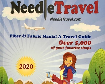 Needle Travel Fiber and Fabric Mania A Travel Guide Over 5000 Shops Listed 2020 Edition