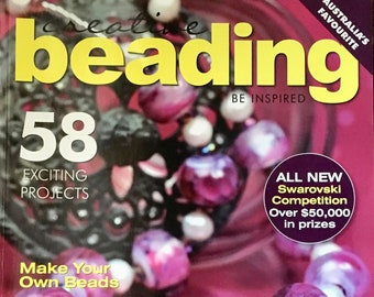 Creative Beading Magazine Australias Favorite 58 Exciting Projects Make Your Own Beads Swarovski Gift Ideas Funky Earrings