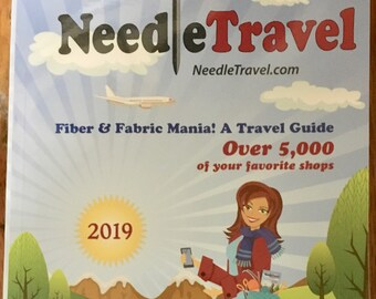 Needle Travel Fiber and Fabric Mania A Travel Guide Over 5000 Shops Listed 2019 Edition
