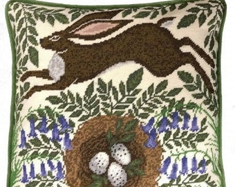 """Spring Hare Tapestry Kit by Bothy Threads All Materials and Instructions Included 14"""""""