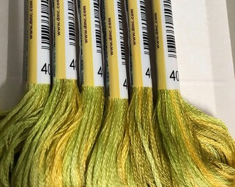 DMC 4070 Autumn Fields Color Variations Embroidery Floss 1 Skein 6 Strand Thread for Embroidery Cross Stitch Needlepoint Sewing Beading