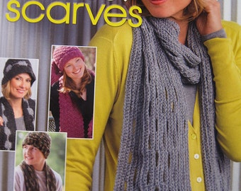 Stylishly Warm Crochet Hats and Scarves Crochet Patterns Easy to Intermediate