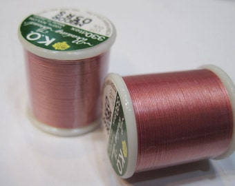 Rose KO Nylon Japanese Beading Thread 55 yards