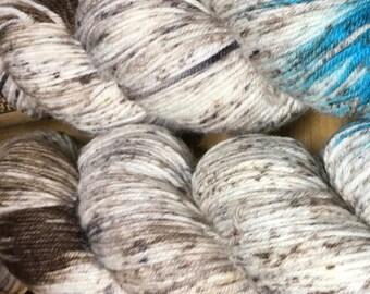 Araucania Huasco Sock Yarn Hand Painted Superwash Wool Polyamide Super Fine Fingering Weight Yarn #1010 Isla Grande 433 yards