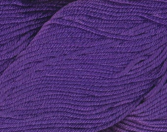 Egyptian Cotton Phoenix DK Ella Rae Yarn DK Weight 273 yards 100% Egyptian Cotton Yarn #1059 Amethyst Purple