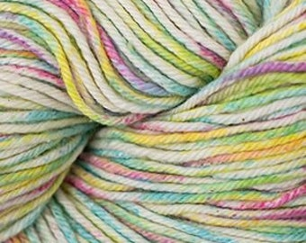 Candy Colors Cascade Nifty Cotton Splash Variegated Worsted Weight 100% Cotton 185 yards